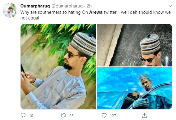 Arewa trends for hours on Twitter as Northern Nigerian youths show off their wealth while celebrating Eid Mubarak (photos)