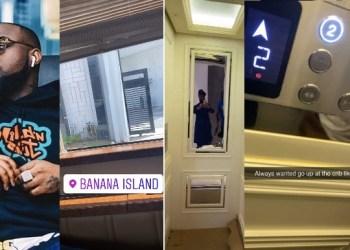 Davido shows his new house in Banana Island (Video)