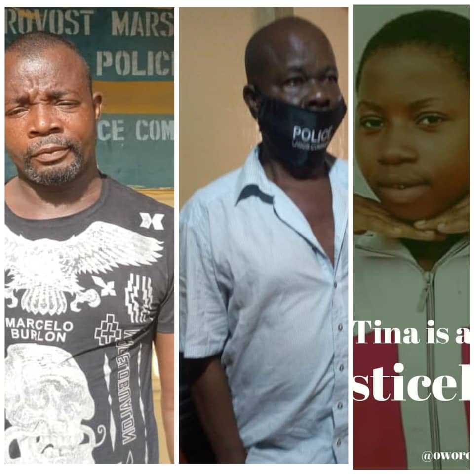 Update: Lagos police command release photos of police officers accused of killing 17-year-old girl in Iyana-Oworo