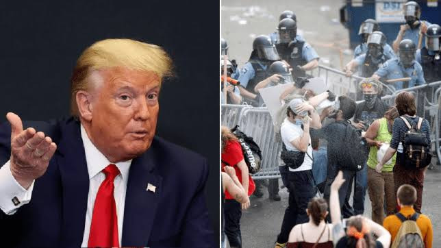 #GeorgeFloyd: Trump designates anti-fascist group ANTIFA as a terrorist organization