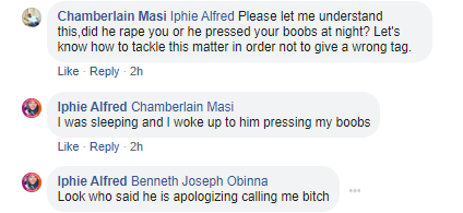 Nigerian man tenders public apology to a Lady for