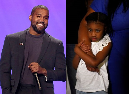 5ed96379bf442 Kanye West donates $2million, sets up college fund for George Floyd's six-year-old daughter