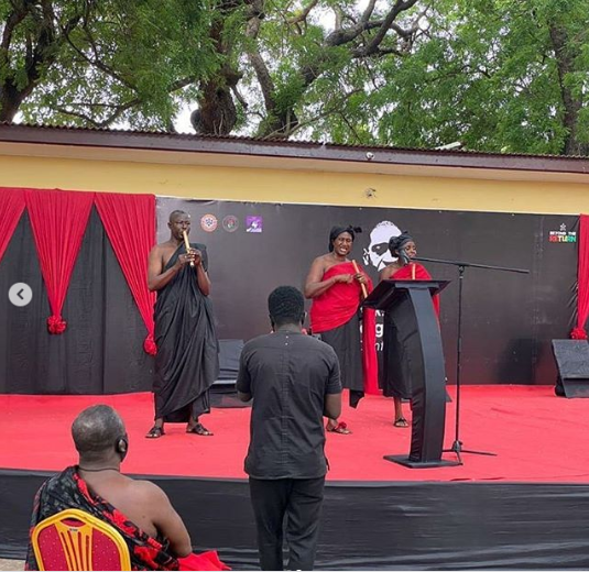 Ghanaian Government holds funeral service for George Floyd in Ghana (videos)