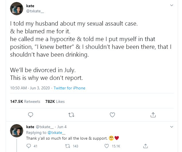 Lady set to divorce her husband for blaming her after she shared her sexual assault case with him