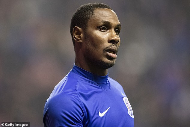 Manchester United striker, Odion Ighalo vows to  leave the pitch if he