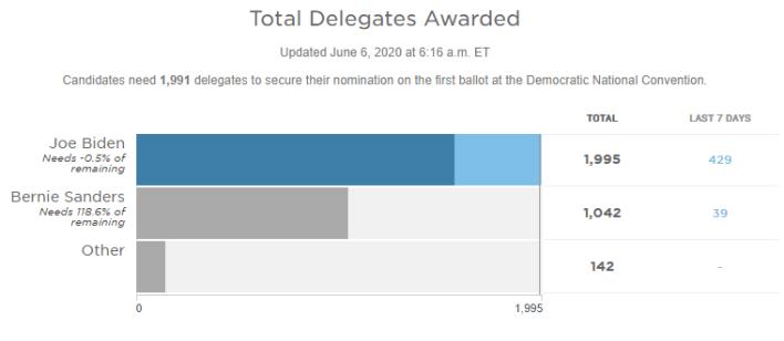 Joe Biden formally wins Democratic nomination to challenge Trump in presidential election