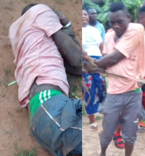 26-year-old man arrested for allegedly raping 7-year-old girl inside a church premises in Benue (photos)