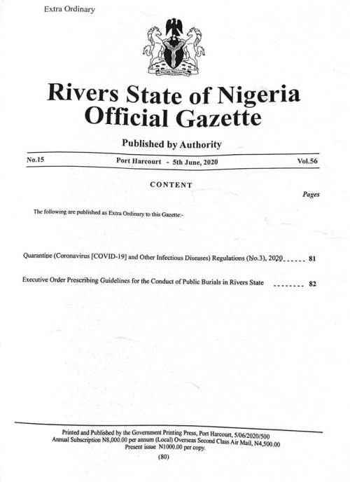 Rivers state govt