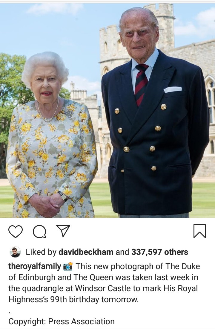 Royal family rings in Prince Philip