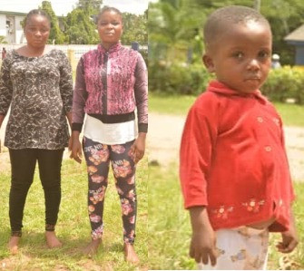 Imo police arrests two women for stealing two year old boy (photos)