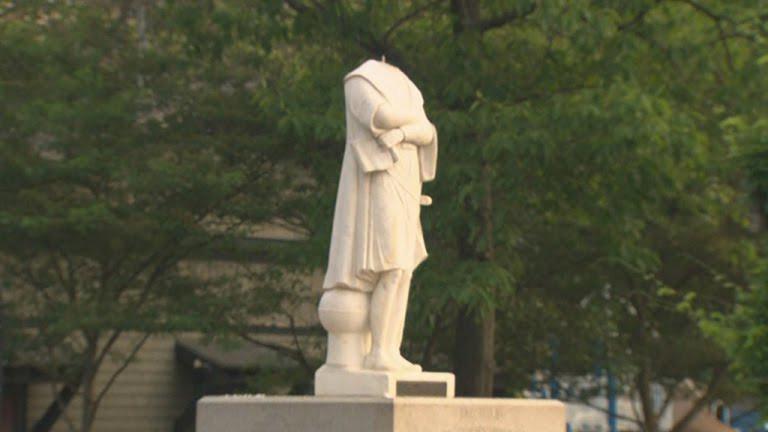 La statue de Christophe Colomb à Boston sera retirée après avoir été décapitée pendant la nuit