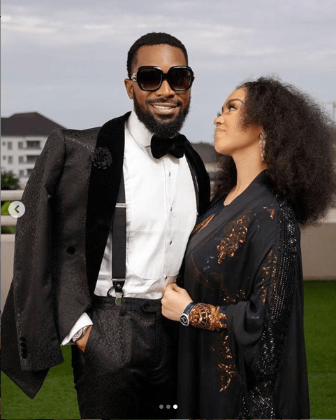 5ee65e2256533 'You are the best and have been nothing but a blessing' - D'banj praises wife Didi Lineo as he shares beautiful photos of them