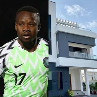Super Eagles player Ogenyi Onazi buys multi-million naira home in Lekki (photos/video)