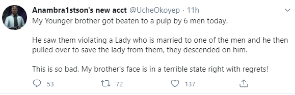 """Good Samaritan """"beaten to a pulp"""" for trying to help a domestic violence victim who was getting beaten by her husband and his friends"""