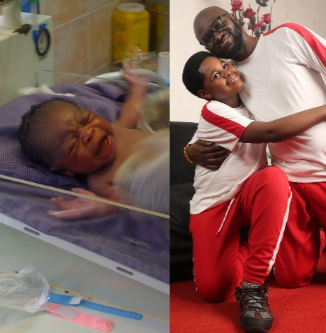 Nigerian dad shares heartwarming story as he celebrates his second child who came after 4 years of waiting