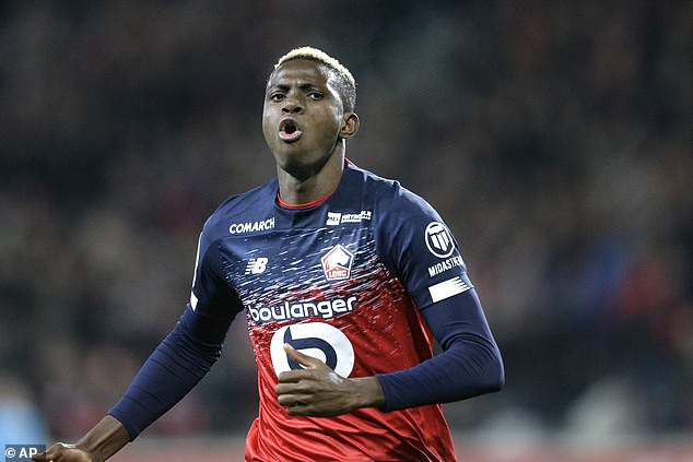 Lille coach, Christophe Galtier confirms Super Eagles striker Victor Osimhen will leave the club this summer