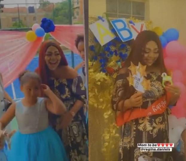 Regina Daniels' Surprise Baby Shower {Photos/Videos}