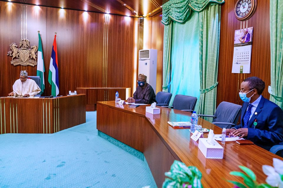 President Buhari receives briefing from Presidential Task Force on COVID-19 (photos)