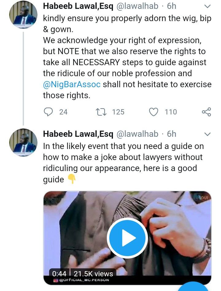 NBA calls out comedian Lasisi for