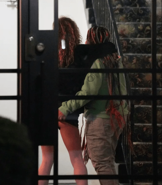Raven Symone pictured getting handsy with her wife in public (photos)