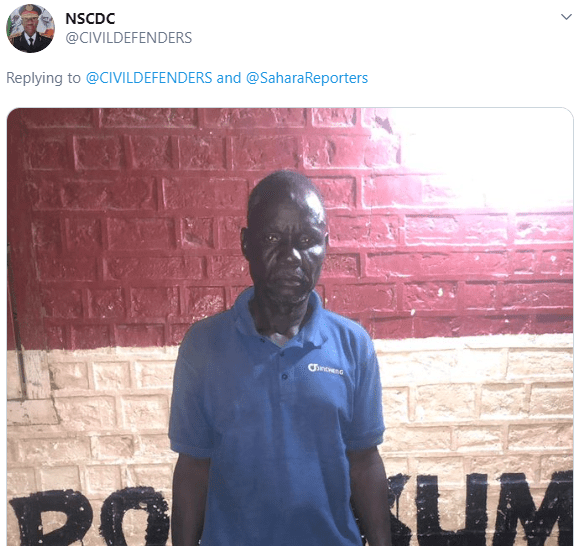 NSCDC reacts as family of 8-year-old rape victim accuses one of its officers of shielding the rape suspects (photos)