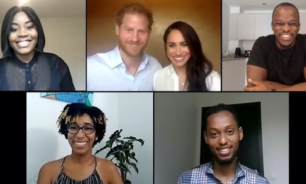 Prince Harry admits his own bias in powerful racism speech as he and Meghan Markle join video call to discuss racial bias