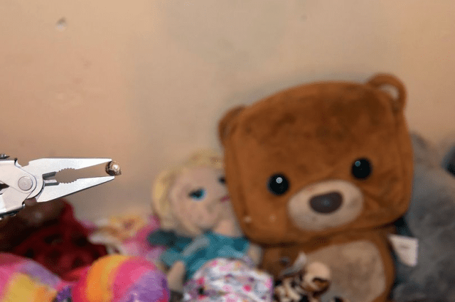 Parent in horror as stray bullet penetrates their little girls' bedroom wall