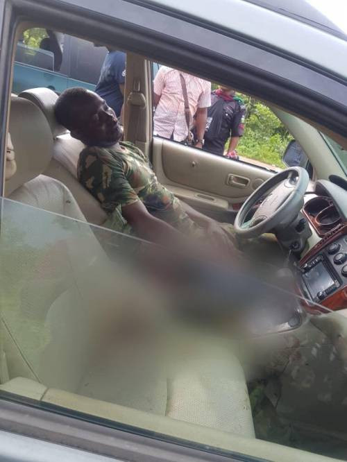 Two naval officers shot dead in Kogi (Graphic)