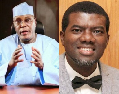 Atiku Abubakar and Reno Omokri kick against FG