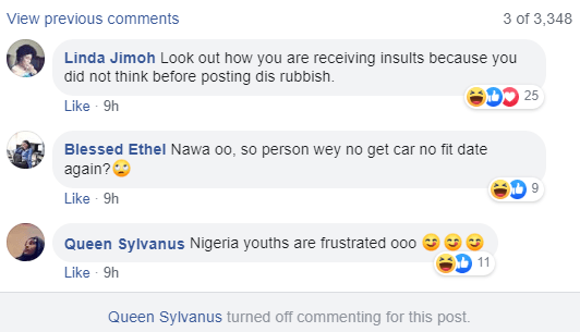 How can you go on a date without having your own car? - Actress Queen Sylvanus asks men