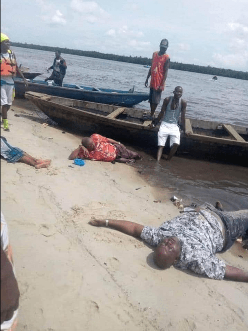16 people rescued alive from Okrika River