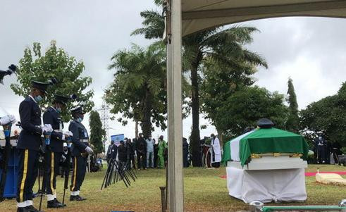 Photos from the funeral of Tolulope Arotile, Nigeria