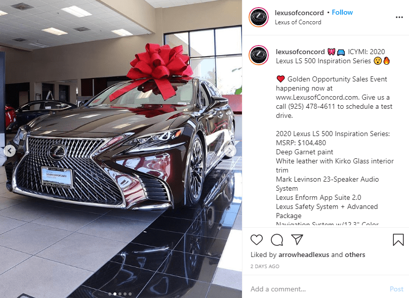 Lady responds after Twitter users accused her of stealing photos of a Lexus 2020 automobile and claiming her hubby just surprised her with it