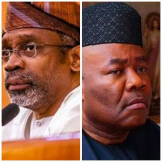Kalu said Akpabio's letter was irrelevant to the issues raised