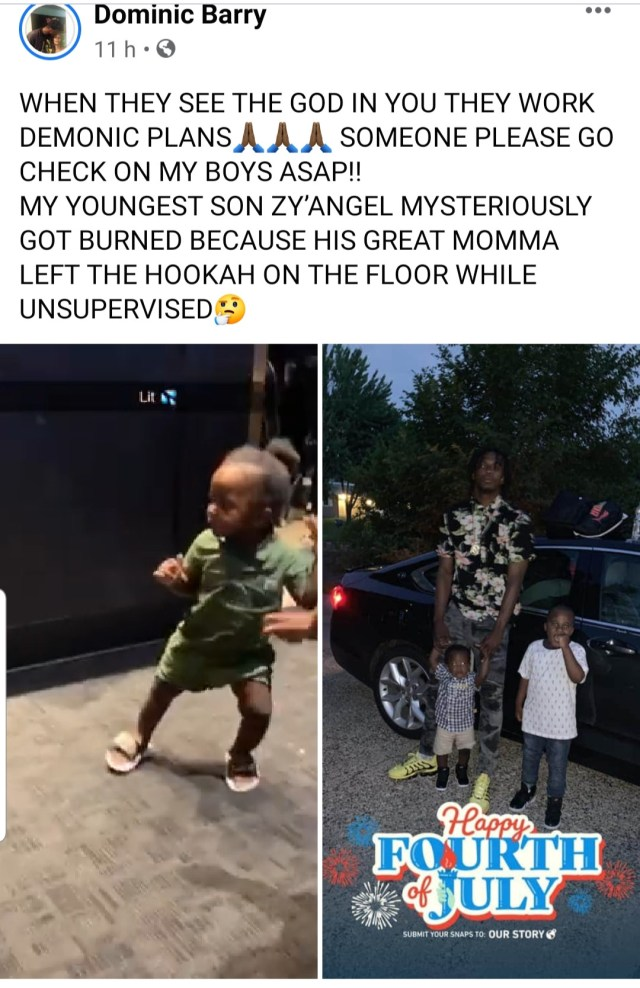 """Man accuses his baby mama of beating him up over """"jealousy, lies and envy"""""""