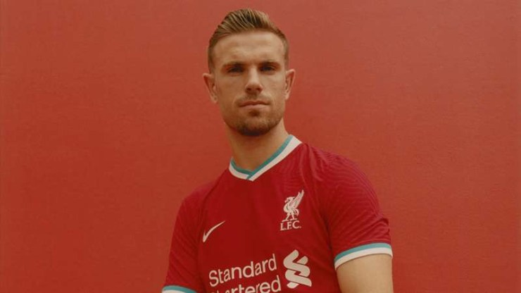 Premier league champions Liverpool release new jerseys for 2020-21 season (photos)