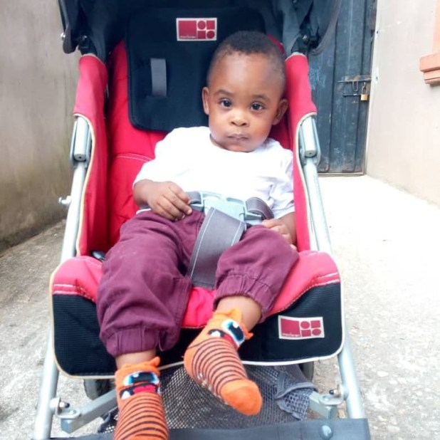 Nigerian mum celebrates her handsome and healthy son who she gave birth to premature at 6 months (photos)
