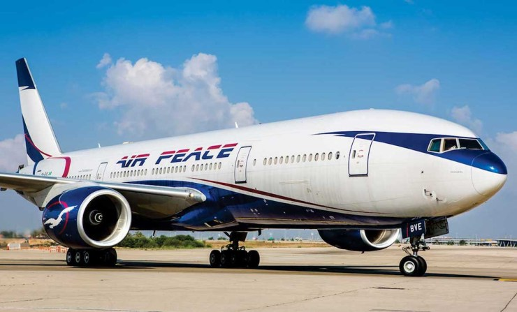 72-year-old man dies onboard an Air Peace flight from Calabar to Abuja