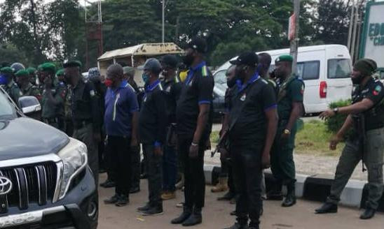 Police take over Edo Assembly complex (photos)