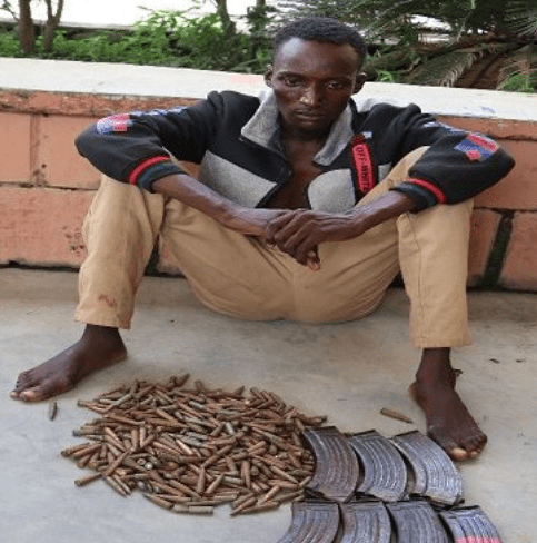 Transporter arrested with 375 rounds of ammunition in Niger state (photo)