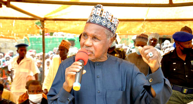 Blame Service Chiefs for banditry, not Buhari ?  Governor Masari