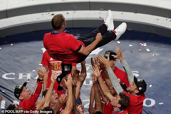 PSG 0-1 Bayern : Bayern Munich wins the 2019/2020 UEFA Champions League (photos)