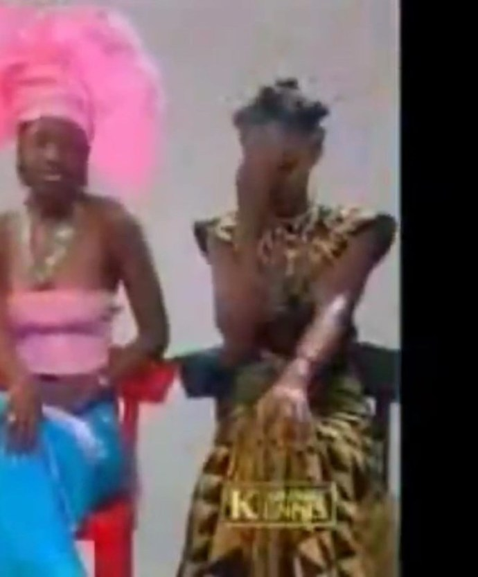 5f43662b3f058 Yvonne Jegede recreates the look she wore for Tuface Idibia's African Queen music video to mark 16 years in the entertainment industry