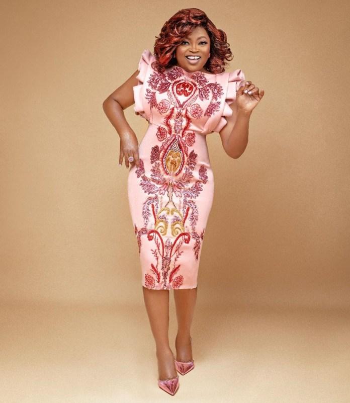 Funke Akindele-Bello shares stunning new photos as she turns 43