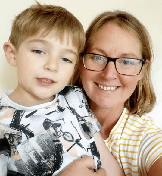 Brave boy, 5, saves mum