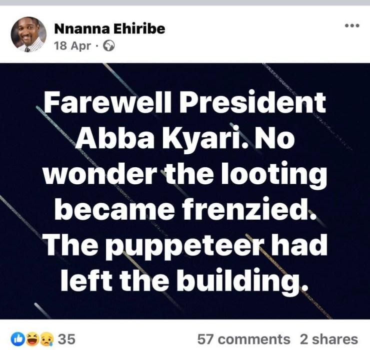 Facebook users celebrate death of lawyer who mocked Abba Kyari and Isa Funtua