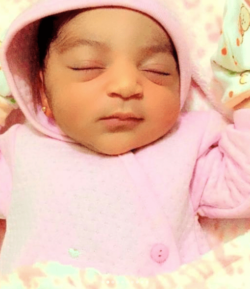 Nigerian woman welcomes baby girl after suffering three miscarriages