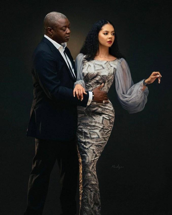 Adama Indimi and her hubby, Malik Ado-Ibrahim
