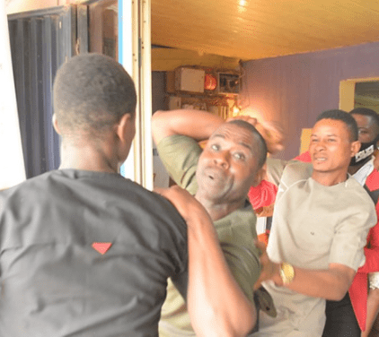 Drama in Lagos church as a man and his family disrupt wedding and insist the bride is already married