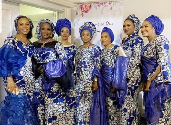Photos from President Buhari?s daughter, Hanan and Turad Sha?aban